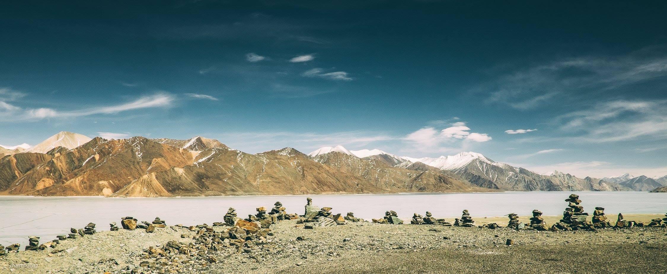 The hills at Pangong copy